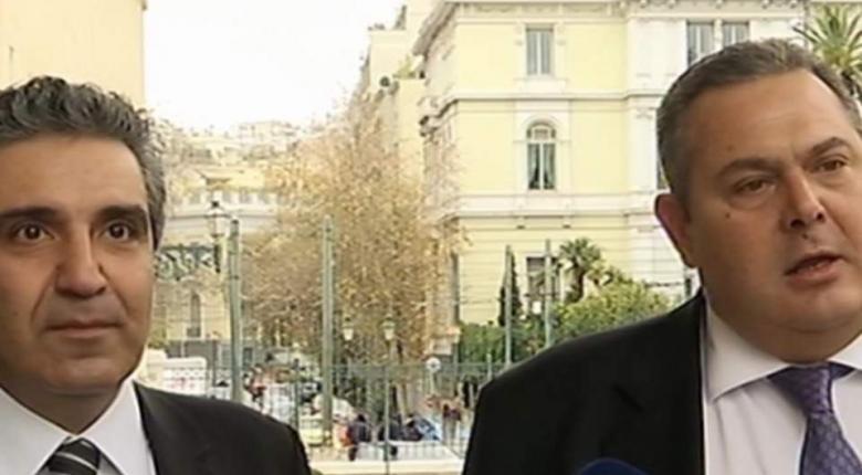 Ο Καμμένος ανακοίνωσε την προσχώρηση Φωκά στους ΑΝΕΛ (video) - Κεντρική Εικόνα