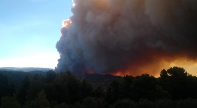 Πολύ υψηλός κίνδυνος πυρκαγιάς και την Κυριακή - Στο «κόκκινο» Αττική, Εύβοια και Κορινθία - Κεντρική Εικόνα