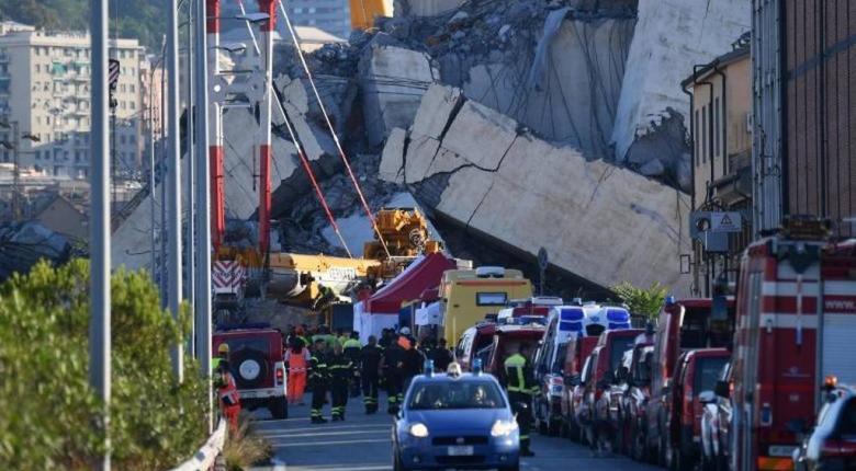 Γένοβα: Παίρνει πρωτοβουλίες η εταιρεία διαχείρισης του αυτοκινητοδρόμου - Κεντρική Εικόνα