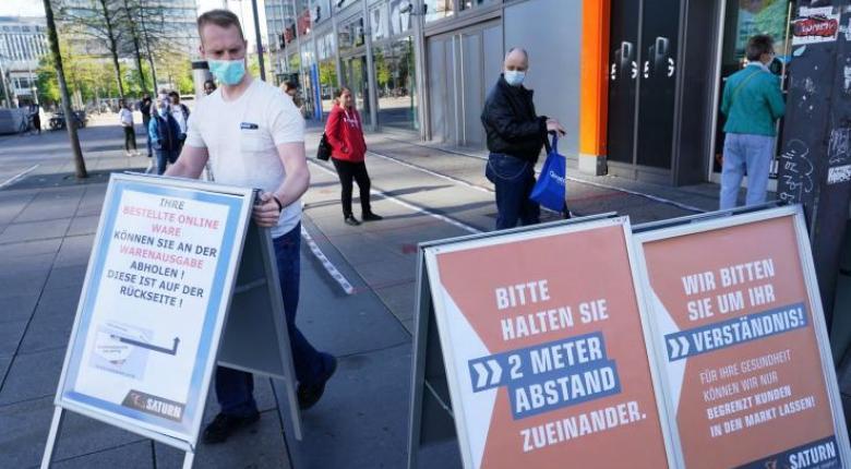 Κορωνοϊός-Γερμανία: Ξεπέρασαν τους 6.000 οι νεκροί - Ενισχύεται η ανησυχία για την χαλάρωση των περιοριστικών μέτρων - Κεντρική Εικόνα