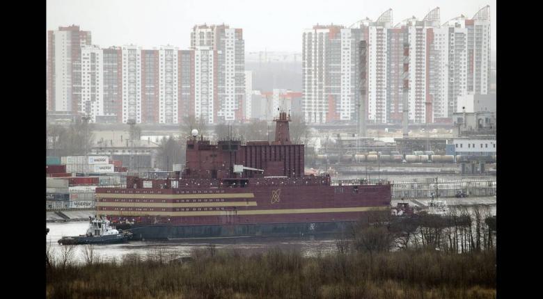 Ξεκίνησε το παρθενικό του ταξίδι το ρωσικό «πλωτό Τσερνόμπιλ» (photos) - Κεντρική Εικόνα