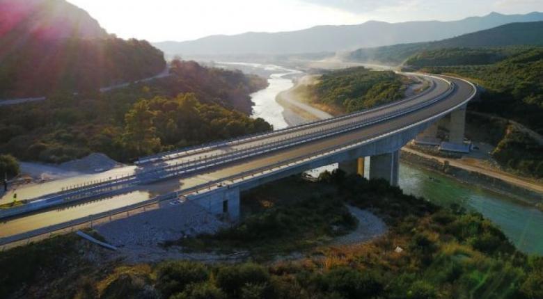 Κυκλοφοριακές ρυθμίσεις στην Ιόνια Οδό, στο ύψος της παράκαμψης Αγρινίου - Κεντρική Εικόνα
