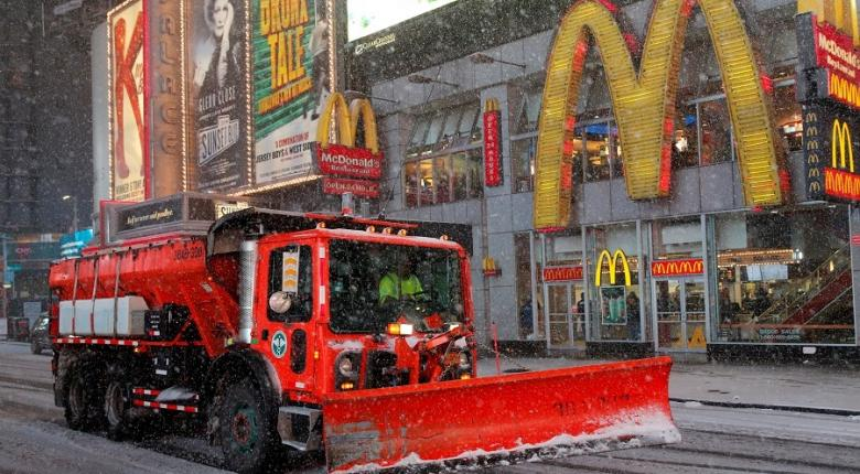 Σε κλοιό χιονιά οι βορειοανατολικές ΗΠΑ - Κεντρική Εικόνα