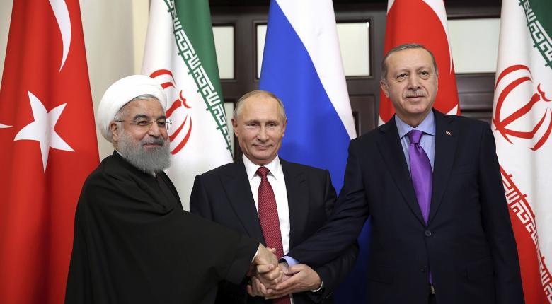 Ρωσία, Ιράν και Τουρκία, φθάνουν στο Σότσι με διαφωνίες - Κεντρική Εικόνα
