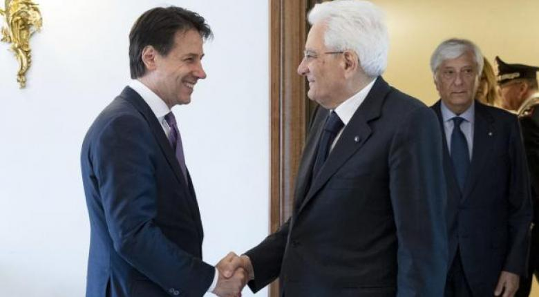 Αντίστροφη μέτρηση για την νέα κυβέρνηση στην Ιταλία - Στον Ματαρέλα μεταβαίνει Κόντε - Κεντρική Εικόνα