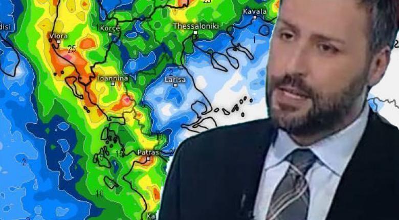 Προειδοποίηση Καλλιάνου: Έρχεται κακοκαιρία με πολύ ισχυρές καταιγίδες – Αναλυτική πρόγνωση - Κεντρική Εικόνα