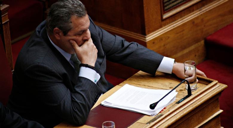 Ενστάσεις αντισυνταγματικότητας ήγειρε ο Πάνος Καμμένος στην Επιτροπή για τις Πρέσπες - Κεντρική Εικόνα
