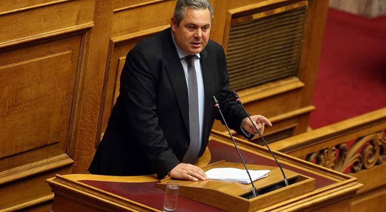 Ο Καμμένος στηρίζει πρόταση μομφής κατά της Συμφωνίας των Πρεσπών - Κεντρική Εικόνα