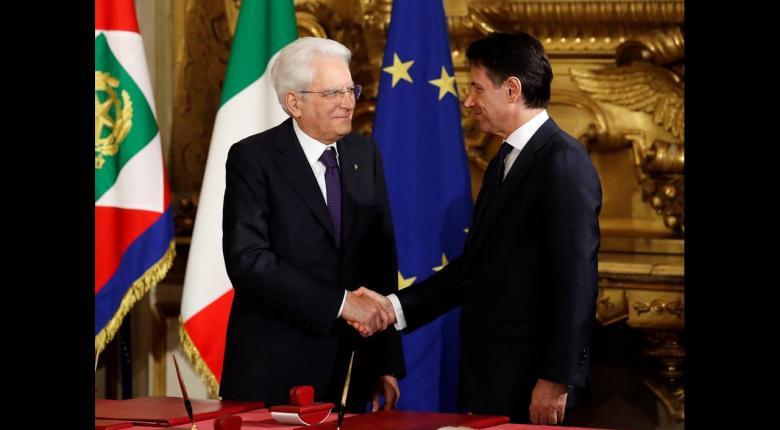 Ιταλία: Ορκίστηκε η νέα κυβέρνηση του Τζουζέπε Κόντε - Κεντρική Εικόνα