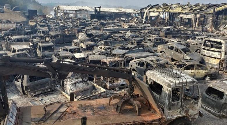 Νότια Κορέα: Ένας νεκρός και πάνω από 4.000 εκτοπισμένοι από δασική πυρκαγιά  - Κεντρική Εικόνα