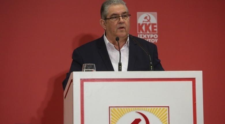 Κουτσούμπας: Ισχυρό ΚΚΕ για στήριγμα της ζωής και των αγώνων των εργαζομένων και του λαού - Κεντρική Εικόνα