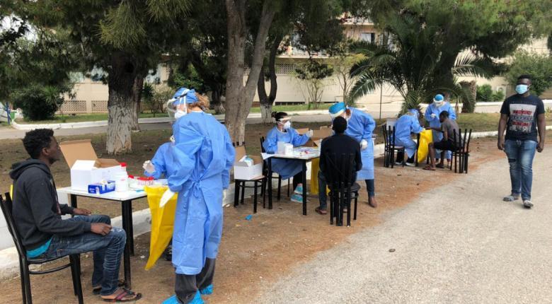 Κορωνοϊός: Ανατροπή σκηνικού και εκτίναξη κρουσμάτων στο Κρανίδι - 150 «θετικοί» πρόσφυγες της δομής - Κεντρική Εικόνα