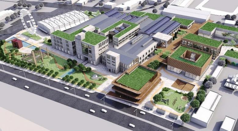 «Πράσινο φως» στη μεγαλύτερη ανάπλαση δημόσιου πρώην εργοστασίου με χρηματοδότηση ΠΔΕ (photos)  - Κεντρική Εικόνα