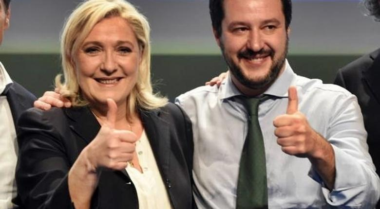 Γαλλία: Δέσμευση Λεπέν για συνεργασία με τον Σαλβίνι - Κεντρική Εικόνα