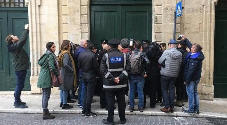 Μάλτα: Εισβολή διαδηλωτών στο γραφείο του πρωθυπουργού  - Κεντρική Εικόνα