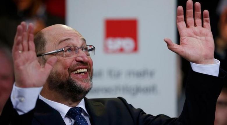 Ο ηγέτης του SPD Μάρτιν Σουλτς εξαγγέλλει υψηλότερη φορολογία για τους πλούσιους - Κεντρική Εικόνα