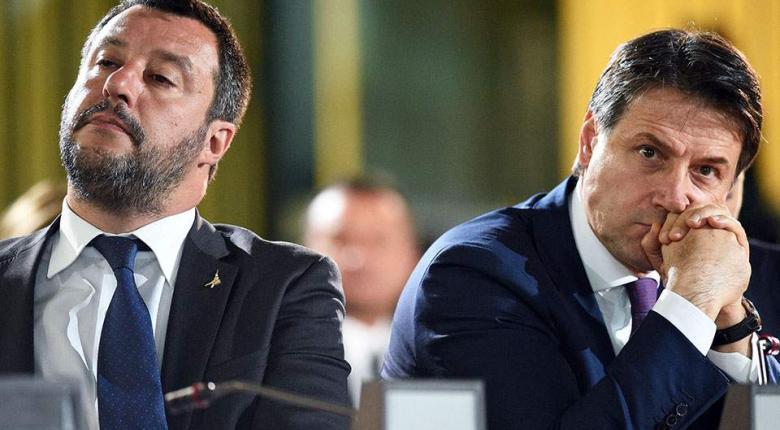Ιταλία: Ο Μ. Σαλβίνι ζητά πρόωρες εκλογές και πυροδοτεί κυβερνητική κρίση - Κεντρική Εικόνα