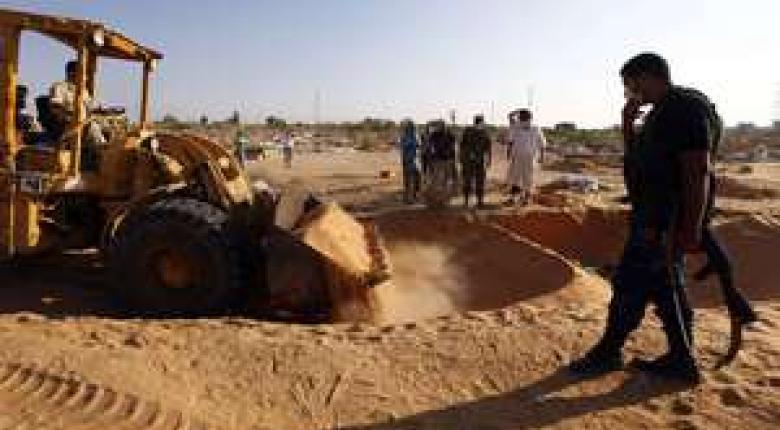 Λιβύη: Εντοπίστηκε μαζικός τάφος με 75 πτώματα σε πρώην οχυρό του Ισλαμικού Κράτους - Κεντρική Εικόνα