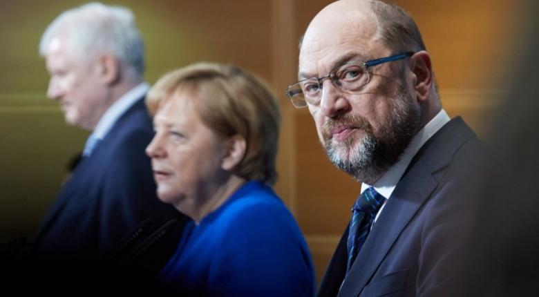 Μέρκελ: Επώδυνος αλλά αναγκαίος ο συμβιβασμός με το SPD - Κεντρική Εικόνα