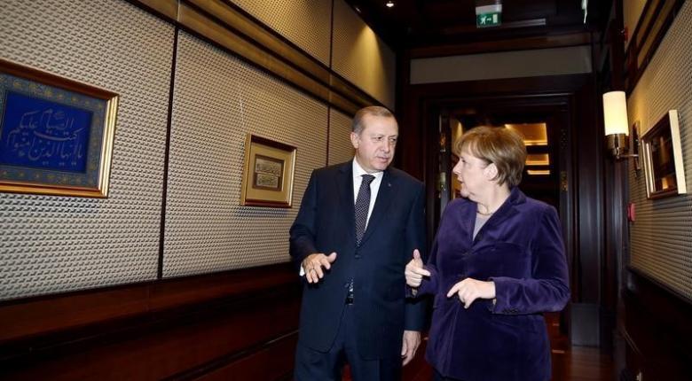 Το Κυπριακό αναμένεται να θέσει η Μέρκελ στον Ερντογάν - Κεντρική Εικόνα