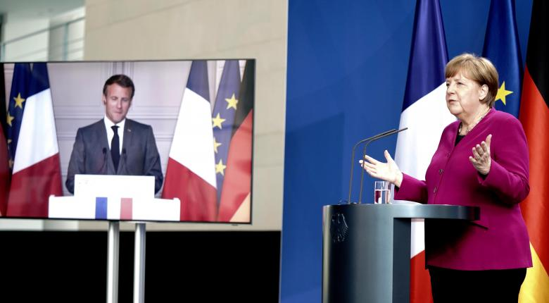 H Mέρκελ ενισχυμένη πολιτικά με την αμοιβαιοποίηση στην κρίση χρέους λόγω πανδημίας - Κεντρική Εικόνα