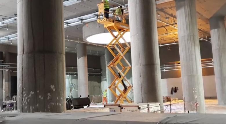 Δείτε τη θεαματική κατασκευαστική πρόοδο του Σταθμού της Γραμμής 3 «Κορυδαλλός» (video) - Κεντρική Εικόνα