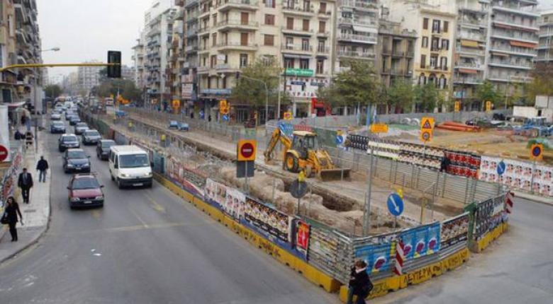 Μετρό: Έτοιμο το 2020 το 75% του έργου στη Θεσσαλονίκη - Κεντρική Εικόνα