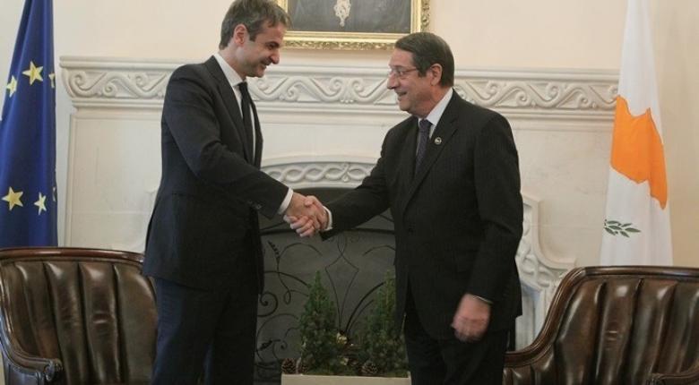Συνάντηση Μητσοτάκη - Αναστασιάδη στις 10 Σεπτεμβρίου στην Αθήνα - Κεντρική Εικόνα