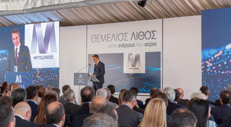 Ο Μητσοτάκης εγκαινίασε τη μονάδα φυσικού αερίου της Μυτιληναίος ύψους 350 εκατ. ευρώ - Κεντρική Εικόνα