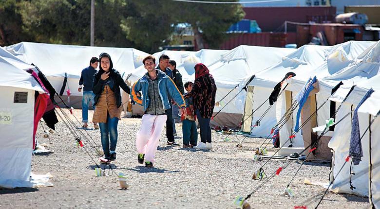 Aπεργία εργαζομένων σε ΜΚΟ κατά των εξώσεων προσφύγων - Κεντρική Εικόνα