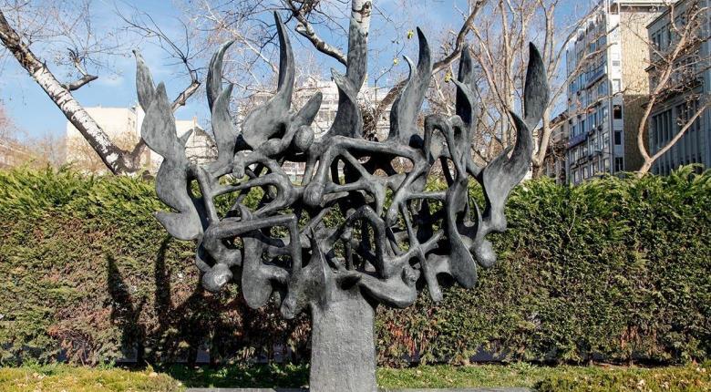 Εικόνα νεοναζιστικής αθλιότητας από το Μνημείο Ολοκαυτώματος στη Θεσσαλονίκη (photo) - Κεντρική Εικόνα