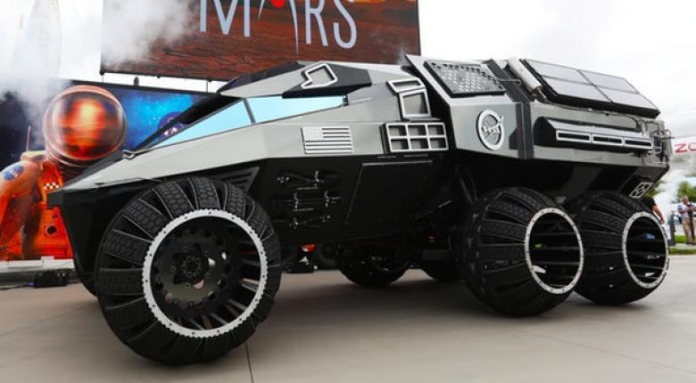 Το νέο φουτουριστικό όχημα της NASA ειδικά για τον πλανήτη Άρη! (photos+video) - Κεντρική Εικόνα