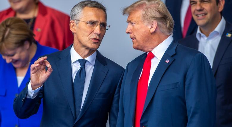 """Ο Τραμπ χαιρετίζει τη """"θεαματική αύξηση"""" των δαπανών των κρατών μελών του ΝΑΤΟ - Κεντρική Εικόνα"""