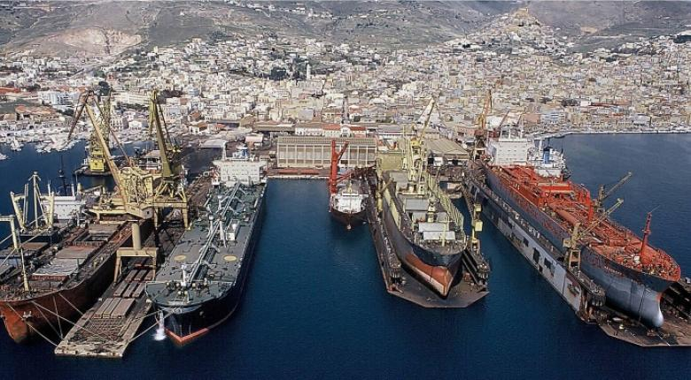 Δυναμική ανάπτυξη του ναυπηγείου Νεώριου Σύρου - Κεντρική Εικόνα