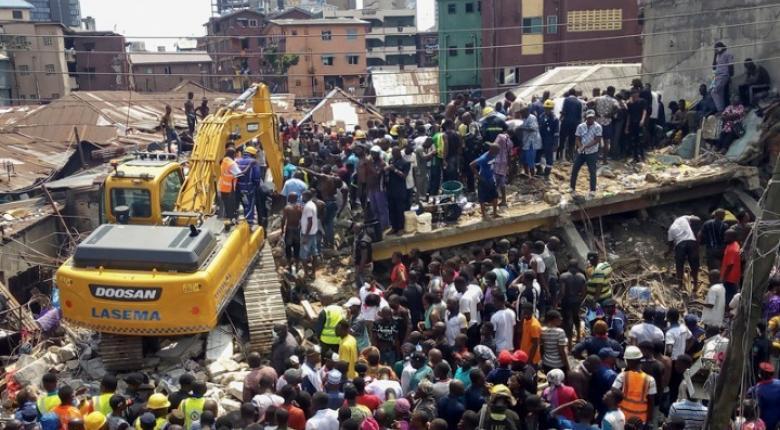 Νιγηρία: Τουλάχιστον 8 νεκροί από την κατάρρευση κτιρίου - Κεντρική Εικόνα