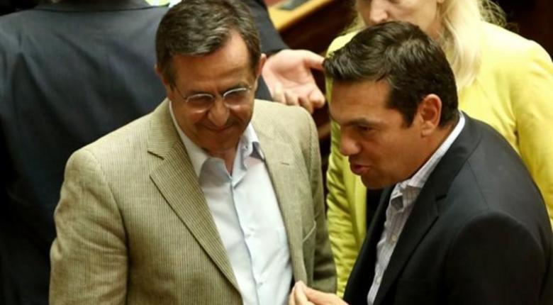 Συνάντηση του Α. Τσίπρα με τον  Ν. Νικολόπουλο για τον εκλογικό νόμο - Κεντρική Εικόνα