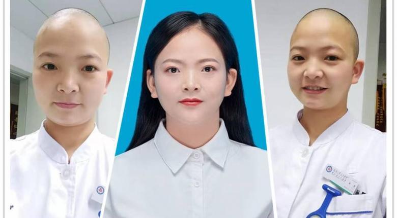 Kίνα: Viral η 30χρονη νοσοκόμα της Βουχάν που ξύρισε το κεφάλι της - Δείτε για ποιον απίστευτο λόγο - Κεντρική Εικόνα