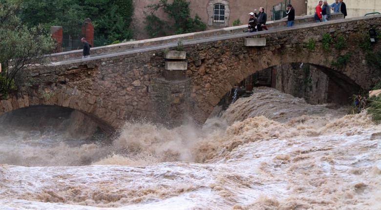 Νέες πλημμύρες στη Γαλλία,την Αυστρία και τη Νότια Γερμανία - Κεντρική Εικόνα