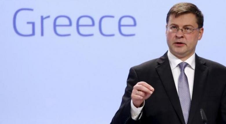 Β. Ντομπρόβσκις: Επιλογή της ελληνικής κυβέρνησης το βαρύ πακέτο φόρων - Κεντρική Εικόνα