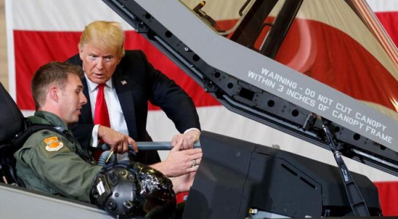 Επίδειξη F-35 πάνω από τον Λευκό Οίκο για τον Πρόεδρο της Πολωνίας - Κεντρική Εικόνα