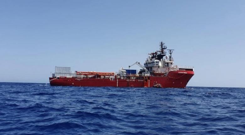 Στην διάσωση ακόμη 34 μεταναστών προχώρησε το Ocean Viking - Κεντρική Εικόνα