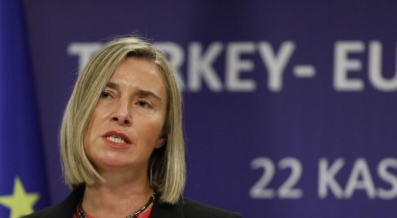 Την προειδοποίηση της ΕΕ προς την Τουρκία επανέλαβε η Μογκερίνι - Κεντρική Εικόνα
