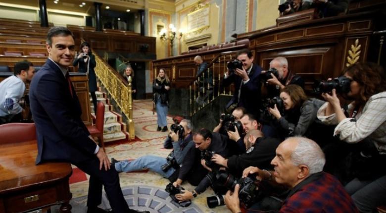 Ισπανία: Αναποφάσιστος για το κυβερνητικό σχήμα ο Πέδρο Σάντσεθ - Κεντρική Εικόνα