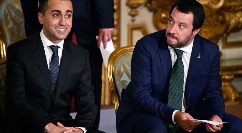 Ιταλία: Αντεπίθεση Ντι Μάγιο στον «μετανιωμένο» Σαλβίνι - Κεντρική Εικόνα