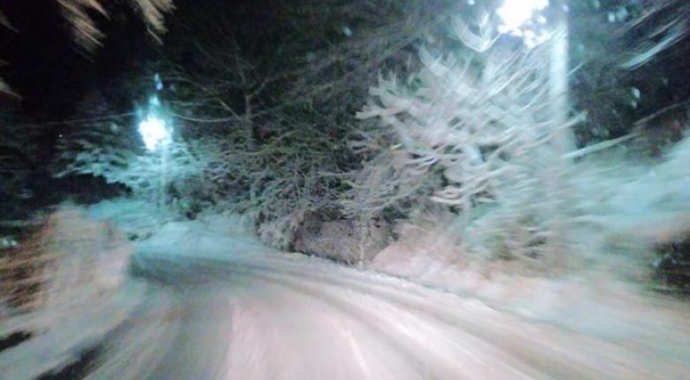 Σε λευκό κλοιό χιονιού το Πήλιο - Κεντρική Εικόνα