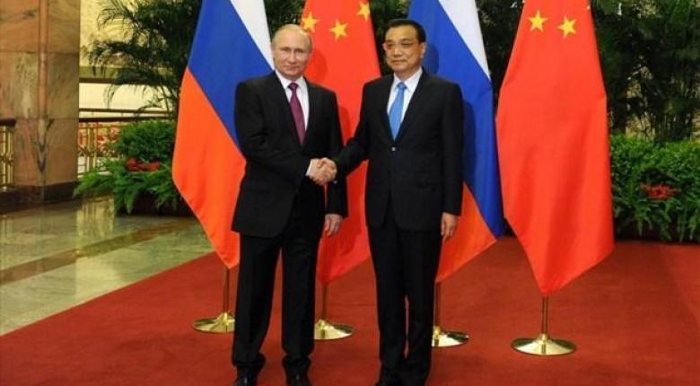 Ο Πούτιν υποδέχεται στο Κρεμλίνο τον Κινέζο πρωθυπουργό - Κεντρική Εικόνα