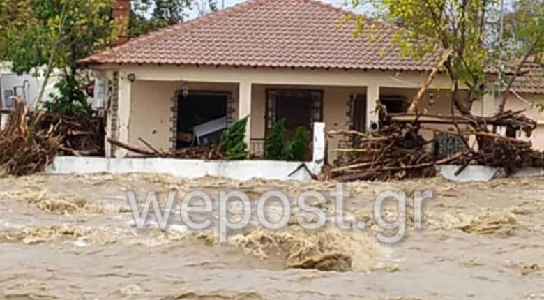 Καταστροφές από τη θεομηνία σε Θάσο-Χαλκιδική - Κυβερνητικό κλιμάκιο στις πληγείσες περιοχές (Photos+Videos) - Κεντρική Εικόνα