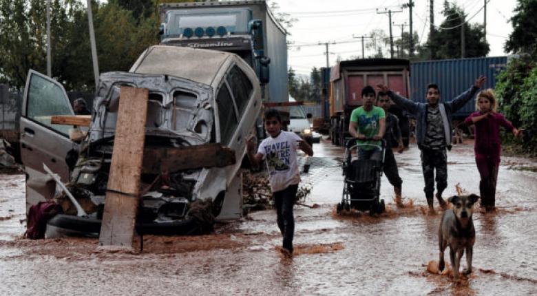 Συνεχίζονται οι αυτοψίες της Περιφέρειας Αττικής για την καταγραφή ζημιών στη Δυτ. Αττική - Κεντρική Εικόνα