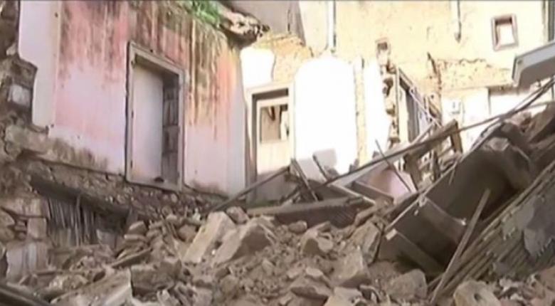 Άλλο ένα παλιό κτίριο κατέρρευσε στο κέντρο της Αθήνας (video) - Κεντρική Εικόνα