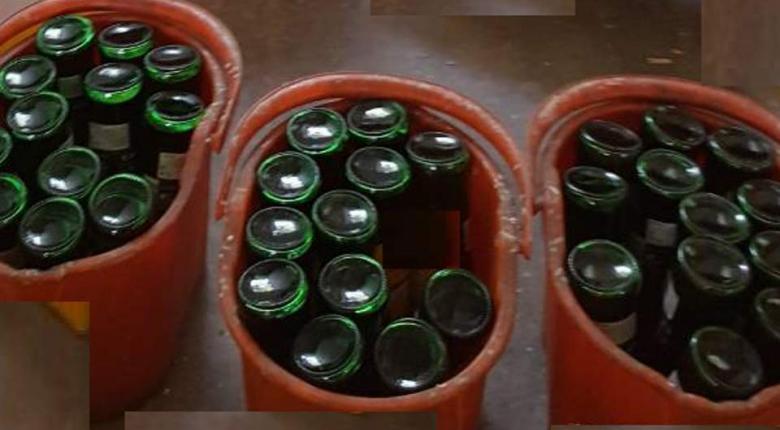 Εντοπίστηκε κύκλωμα παραγωγής και διακίνησης νοθευμένων ποτών - Κατασχέθηκαν 13 τόνοι οινοπνεύματος - Κεντρική Εικόνα